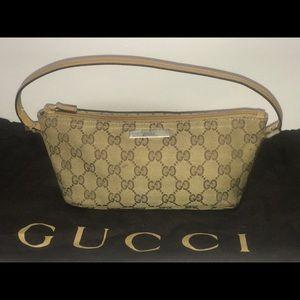 Authentic Gucci baguette pochette mini purse bag